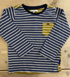 Noppies - Ochre/navy stripes 92