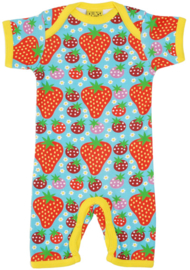 Duns Sweden - Strawberry Field Light Turquoise Summersuit