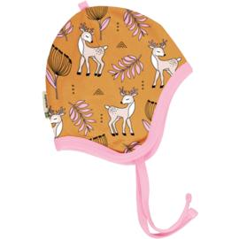 Meyadey - Hat Helmet Poppy Deer