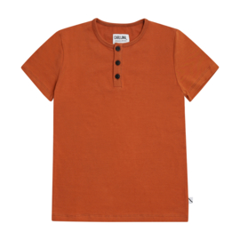 CarlijnQ - Henley Short Sleeves Basic Shirt