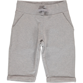 Maxomorra - Sweatshorts Knee Light Grey Melange
