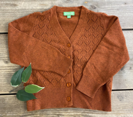 Lily Balou - Alicia Cardigan Biscuit Brown 98/104