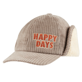 Carlijn Q - Corduroy Cap Happy Days