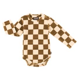 Carlijn Q - Bodysuit Velvet Checkers