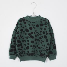 Lötiekids - Sweatshirt Dots Green