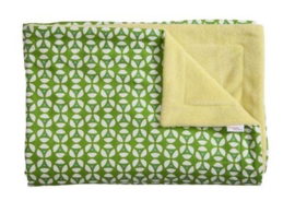 Trixie - Geo Green Deken Bed/Box 100x150cm