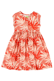 Lily Balou - Jozefien Dress Palm Leaves