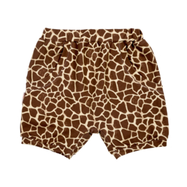 Malinami - Shorts with Pockets Giraffe Skin