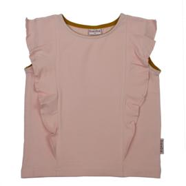 Baba Kidswear - Ruffle Shirt Peach