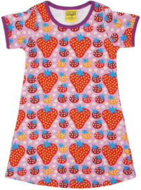Duns Sweden - Strawberry Field Light Purple SS Dress
