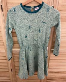 Baba - Smock Dress Nature Green 98/104