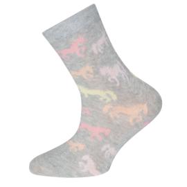 Ewers - Socken Horses Sweater Grau Melange