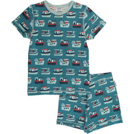 Maxomorra - Pyjama Set Short Sleeve Trawler