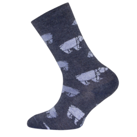 Ewers - Socken Eisbären Navy Melange