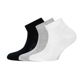 Ewers - Sneaker 3-Pack Uni Weiss/Grau/Schwarz