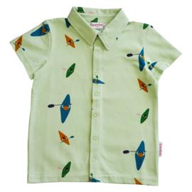 Baba Kidswear - Boys Shirt Shortsleeves Kayak River