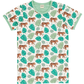 Meyaday - ADULT Men SS Top Tiger Jungle