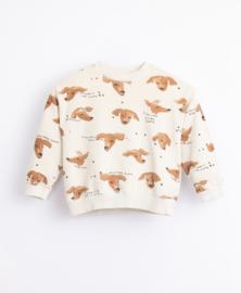 Play Up - Jersey Stitch Jersey with Dog Print Miro