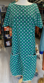Albalady - Flower Dress Green