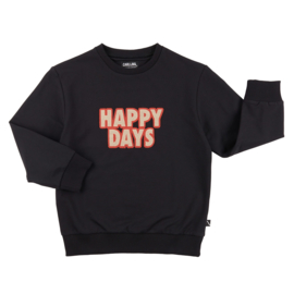 Carlijn Q - Sweater with Embroidery Patch Happy Days