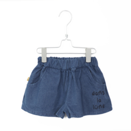 Lötiekids - Wide Shorts Denim