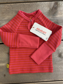 Alba - Feane Blouse Pink/Red Striped