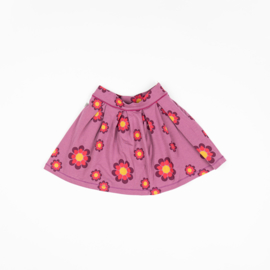 Alba of Denmark - Nelly Skirt Bordeaux Flower Power Love