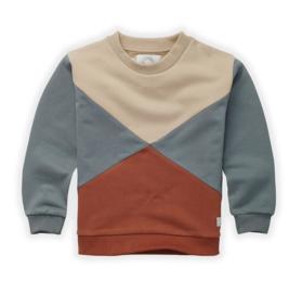 Sproet&Sprout - Sweatshirt Colourblock Auburn