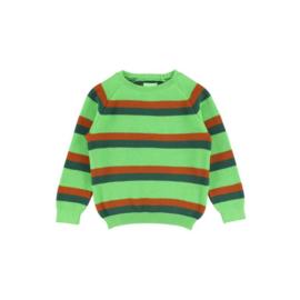 Lily Balou - Ilya Jumper Striped Bright Green