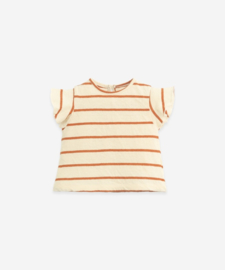 Play Up - Striped T-Shirt Anise