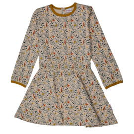 Baba - Smock Dress Rabbit and Squirrel