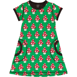 MAXOMORRA CLASSIC - Dress Short Sleeve Mushroom