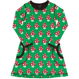 MAXOMORRA CLASSIC - Dress Long Sleeve Mushroom