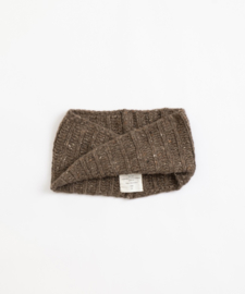 Play Up - Knitted Collar Coffee