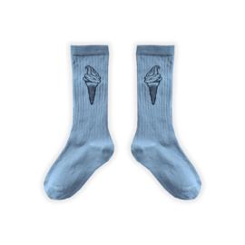 Sproet&Sprout - Sport Sock Icecream Blue