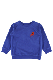 Lily Balou - Jesse Embroided Sweater Dazzling Blue