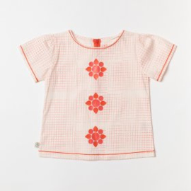 Alba - Eline Tunic Angel Wing Dotted Cubes