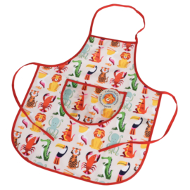 Rex London - Colourful Creatures Children's Apron