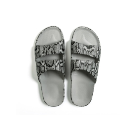 Freedom Moses - Cobra Grey Slipper (fancy)