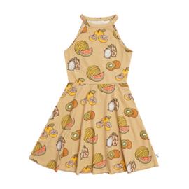 Carlijn Q - Halter Dress Summer Fruits