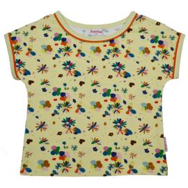 Baba Kidswear - Multicolor T-Shirt Girls Flower Field