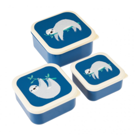 Rex London - Sidney The Sloth Snack Boxes (set of 3)