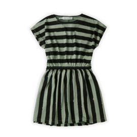 Sproet&Sprout - Skater Dress Painted Stripe