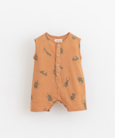 Play Up - Short Printed Jumpsuit Beetle Raquel