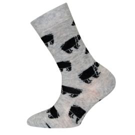 Ewers - Socken Eisbären Sweater Grau Melange