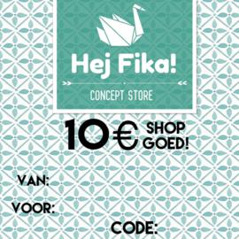 Shop Goed! t.w.v. 10 euro