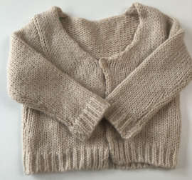 Lily Balou - Crème Knitted Cardigan 86/92