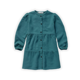 Sproet&Sprout - Dress Double Gaze Pine Green