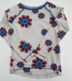 Alba - Ghita Blouse Antique White Flower Power Love 98