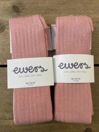 Ewers - Kousenbroek met Ribmotief Altrosa